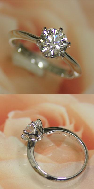 ダイヤモンド エンゲージリング プラチナ 1カ...の紹介画像2