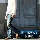 ブーツカットジーンズ BLUEWAY:ビンテージデニム エンジニア フレアカットジーンズ(ダイハード2):M1631-7155 ブルーウェイ ジーンズ メンズ デニム ジーパン 裾上げ