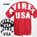 【30%OFF】AVIREX/アヴィレックス <メンズ> ビッグロゴ ルーズフィット Tシャツ/BIG LOGO LOOSE FIT T-SHIRT 6183546