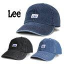 ショッピング帽子 レディース Lee/リー Lee 6P CAP DENIM/デニムキャップ 100176304