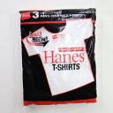 HANES/ヘインズ HM2135G 3P アカラベル クルーネックTシャツ/赤パック ヘインズ