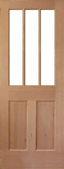 【9種のガラスから選べるアートガラスドア】シンプソン 木製室内ドア344SL3 813×2032×35サイズ