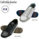 【16年SSモデル】 朝日ゴルフ メンズ カリフォルニアサンライズ スパイクレスシューズ CSSH-3611 (Men's) California Sunrise Spikeless Shoes ASAHI GOLF