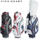 【16年モデル】 ビバハート メンズ キャディバッグ VHC017 (Men's) VIVA HEART