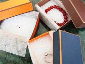 《ライトでポップなマットペーパー》ジュエリーケース(多目的用アクセサリーケース・ジュエリーボックス・宝石箱・プレゼント・ギフトボックス 箱・小物入れ・オレンジ・ダークブルー(紺色)・ブラウン(茶色))