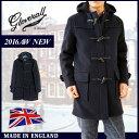 [ ブランド公認 ]グローバーオール ダッフルコート GLOVERALL コート メンズ メルトンウール ロング コート 裏地チェック Made in England 英国製 model-920CT 送料無料