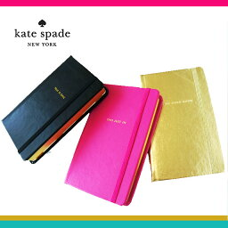 [ ブランド公認 ] kate spade ケイトスペード ノートブック B7サイズ ノート ステーショナリー 横罫 ポケットサイズ メモ帳 ポケット付き kate spade new york 本国モデル notebook-Medium-Leatherette