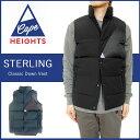【J-pia価格】現品限り Cape Heights ケープハイツ ダウン 定番 ダウンベスト アウター メンズ 2015-16モデル 海外展開正規品 model- CHM121168215 STERLING Classic Down Vest