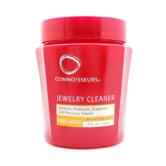 General jewelry & precious metals products cleaner with a tray and brush (jewelry cleaning solution)