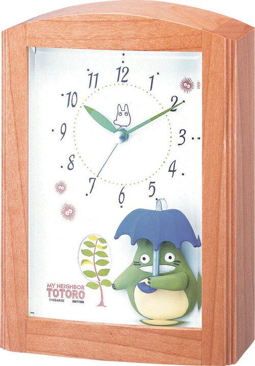 キャラクター時計 トトロ R752N (4RM752MN06) 【置時計/置き時計】