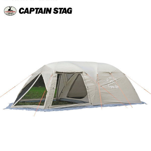 キャンプテンスタッグ ツールームドームテント 5-6人用