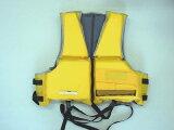 【】【フロート・浮き輪】 MC-2549 シーサイド フローティングベスト2 イエロー【キャプテンスタッグ】【CAPTAIN STAG】川や海やプールでの水あそびに!【smtb-TK】