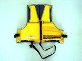 川や海やプールでの水あそびにも!【】【フロート・浮き輪】 キャプテンスタッグ(CAPTAIN STAG)シーサイド フローティングベスト2子供用 イエロー(MC-2552)川や海や