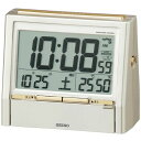 セイコー(SEIKO) デジタル電波置き時計 DA206G TALK LINER/トークライナー カレンダー・温度計・湿度計・表示機能付 おしゃれな電波時計/電...