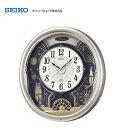 【限定特価】 セイコー(SEIKO) 電波掛け時計 ウエーブ...