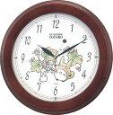 【送料無料】 クオーツ掛け時計 トトロM690A 4KG690MA06 キャラクター・となりのトトロ・スタジオジブリ/掛け時計/おしゃれな壁掛け時計/掛時計/リズム時計工業(RHYTHM・シチズン系列)※電波時計ではありません。