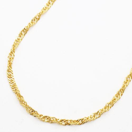 ◇特別価格◇【送料無料】 純金 ネックレス (K24)(ゆったり42cmサイズ・スクリュー)【smtb-k】