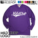 MILD CHOP LOGO/オリジナルロングTシャツ/ネット限定長袖Tシャツ【cloth】MILDCHOP