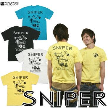 SNIPER/オリジナル半袖Tシャツ/ネット限定Tシャツ【cloth】MILDCHOP by JACA JACA 0620ます得5