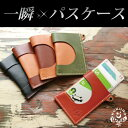 [279]Instant pass case / real leather (Tochigi leather )/ pass holder commuter pass case strap separate sale ic card men gap Dis commuter pass case coupon pass case attending school commuting card case cover holder carrying chain separate sale / brand HUKURO by JACA JACA bag lots and lots 【 RCPfashion 】)