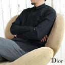 DIOR HOMME ディオールオム 233C531A1581 ドレスシャツ 比翼シャツ 900/ブラック