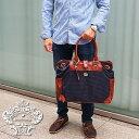 OROBIANCO オロビアンコ WANDALA SMALL K ワンダラ スモール 千鳥格子ネイビー/ブラウントートバッグ ビジネスバッグ オロビアンコ バッグ オロビアンコ トート