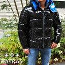 TATRAS タトラス メンズダウンジャケットMTLA20A4104-D ANDER アンデール BLACK/ブラック ラミネート加工 タトラス ダウン メンズ タトラス メンズ