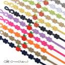 ★1週間限定SALE!!★ 【メール便可】 CRUCIANI クルチアーニ 刺繍ブレスレット NY限定 BIG APPLE ビッグ アップルモデル 全10色