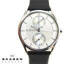 SKAGEN スカーゲン メンズ腕時計 40mm HOLST ホルスト シルバー×ブラック SKW6065 スカーゲン 腕時計 メンズ