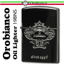 送料無料 Orobianco オロビアンコ オイルライター ブラック/シルバー ORL-19BNS ギフト プレゼントに最適