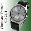 当店限定 クリスチャーノ・ドマーニ Christiano Domani 腕時計 メンズ スモールセコンド搭載 フォーマルデザイン CD-2111-1 独占販売
