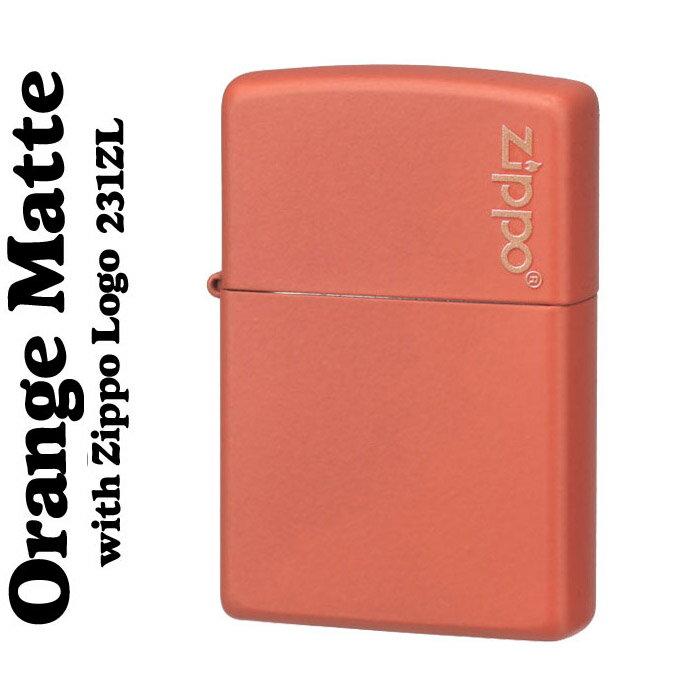 【ZIPPO】オレンジマットジッポ・レギュラー#231ZL [ ZIPPOライター lighter ジッポ zippo ライタ− ジッポ− ]【ネコポス対応可】