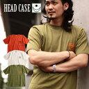 HEAD CASE/ヘッドケース HEMP(ヘンプ)Tシャツ[メンズ 半袖 Tシャツ カットソー ティーシャツ カットソー おしゃれ かっこいい 紳士 ..