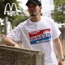 【McDonald's/マクドナルド】<マックサーフ> Tシャツ/SUNBREEZE