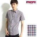 [SALE]merc london 半袖ボタンダウンシャツ ...