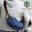 PAILOT RIVER パイロットリバー ワンショルダー ウォッシュデニム地 洋白ブロンココンチョ付 PR-OSD-BRメンズ バッグ 鞄 レザー[メンズ レザー 革小物 メンズ レザー 革小物]