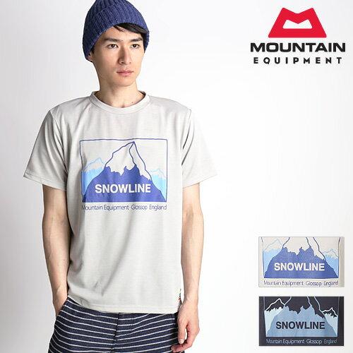 マウンテンイクイップメント スノーライン Tシャツ
