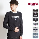 "merc london/メルクロンドン ロングTシャツ ""FIGHT"" 1704134 2016aw[メンズ 長袖 長袖T ロンT カットソー ロングティーシャ..."
