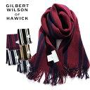 GILBERT WILSON OF HAWICK/ギルバートウィルソン オブ ハウィック ストライプマフラー WRAP STRIPE SCRF FULW300970[メンズ スカーフ ..