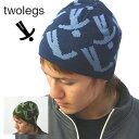 [SALE]TWO LEGS/トゥーレッグス ビーニーワッチ(ニットキャップ) [メンズ 帽子 ニット帽 メンズ 帽子 ニット帽 メンズ 帽子 ニット帽..