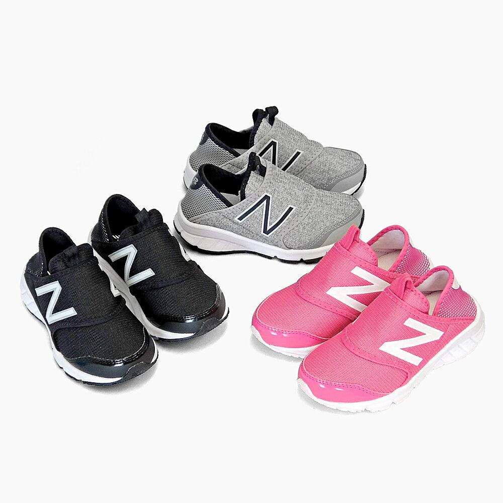 NEW BALANCE KIDS JUNIOR K150S ニューバランス キッズ スリッポン スニーカー K150SGRY K150SBWY K150SMGY K150 NEWBALANCE ブラック グレー ピンク KIDS 子ども靴 子供靴 2017春夏 SS 新作 人気