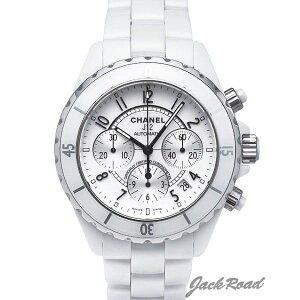 シャネル CHANEL J12 オートマティック クロノグラフ H1007 【新品】 時計 メンズ