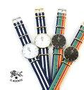 イルビゾンテ(IL BISONTE)NATOストラップ ラウンドフェイス 腕時計 リストウォッチ・54172304197-0061902【メンズ】【レディース】【1F】