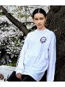 [Rakuten Fashion]【SALE/40%OFF】【Richardson】CHERRY BL T STER LS T-Shirt bonjour records ボンジュールレコード カットソー カットソーその他 ホワイト ブラック【RBA_E】【送料無料】