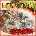 【送料無料】国産 すっぽん鍋 セット(スッポン鍋)3〜4人前 400g お取り寄せ 鍋 お年