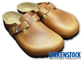 Birkenstock-BIRKENSTOCK Boston antique Brown ( BOSTON ANTIQUE BROWN leather sandal clog )