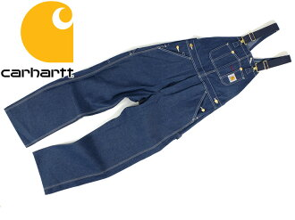 剛性牛仔 (牛仔背帶褲整體無襯裡) 哈特哈特 R08 牛仔背帶褲工作服