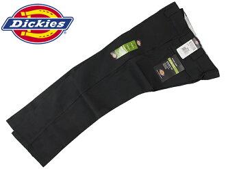 Dickies Dickies WP873 超薄直工作褲子黑色超薄直工作褲子斜紋棉布褲)