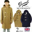 【最大20%OFFクーポン配布中】グローバーオール GLOVERALL MC5750-52 ダッフルコート モンティ (父の日 防寒 英国製 MONTY メンズ 585)