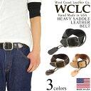 WCLC ウエストコーストレザーカンパニー ヘビーサドルレザーベルト アメリカ製 米国製 (4.5〜5mm厚 West Coast Leather Company MADE I..